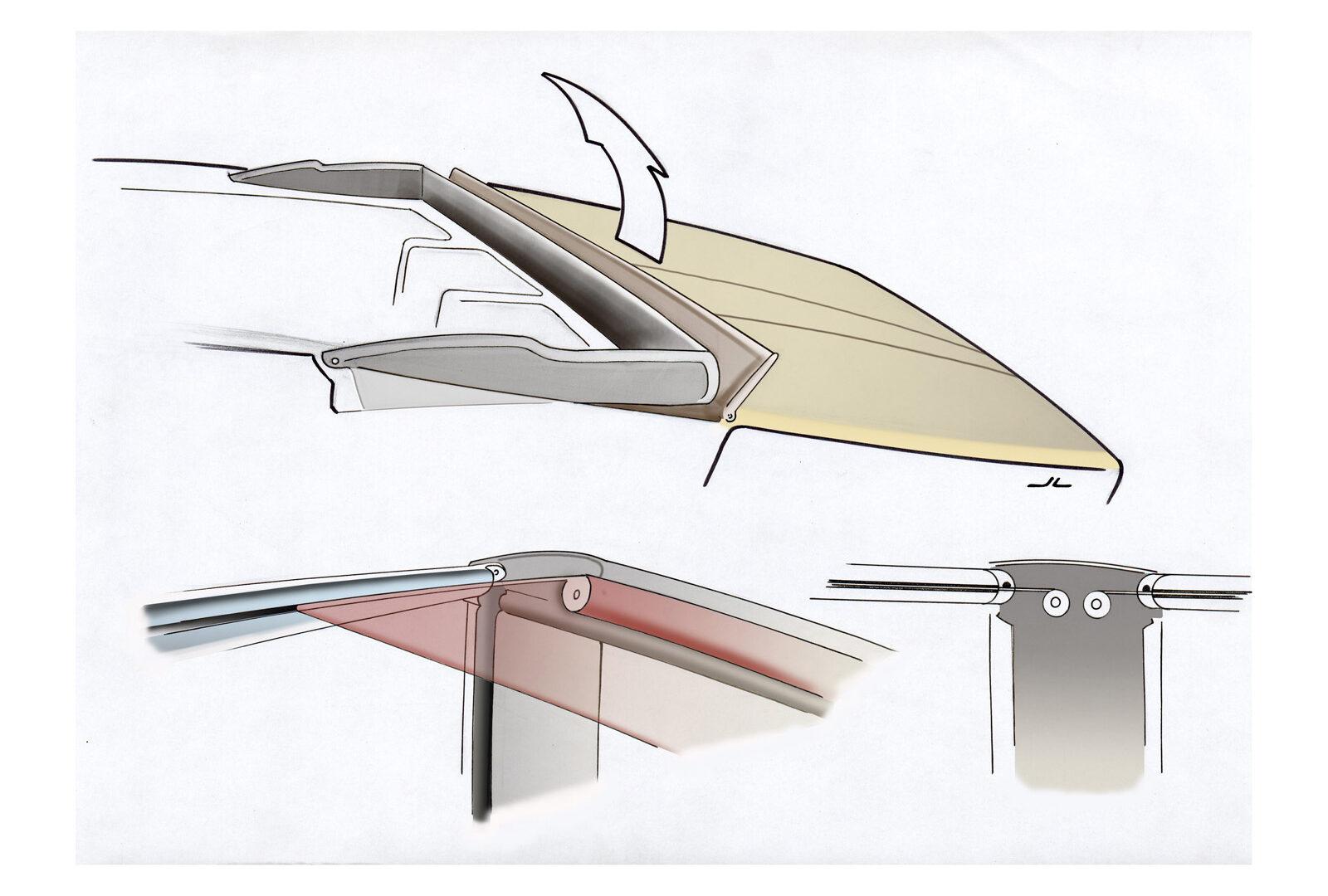 FELLERyachting Design/Entwurf Sunshield.